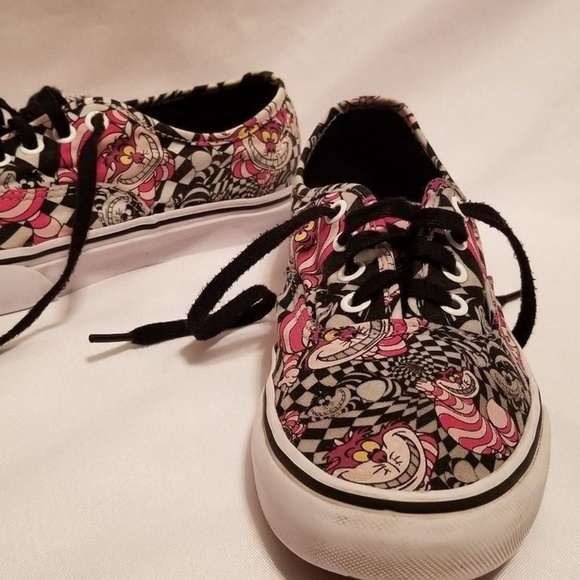 311e76cfd08 Vans Disney Cheshire Cat Shoes Men 5.5 Womens 7. M 5b3af5ea03087cd0fcb187b2